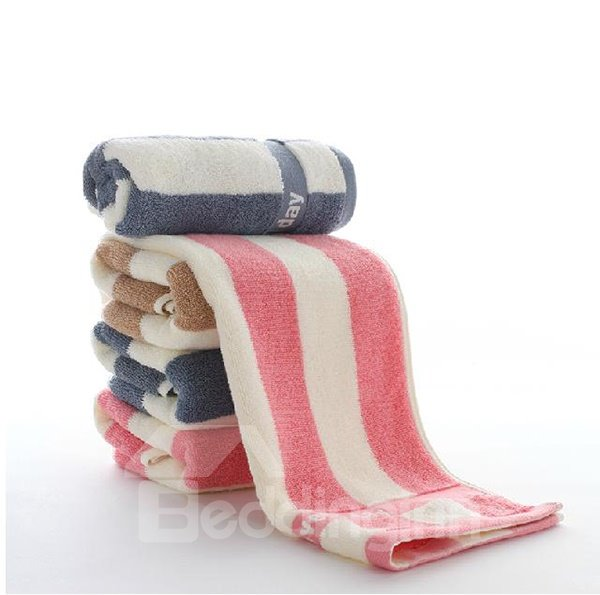Chic Stripe Skincare Soft High Quality Towel