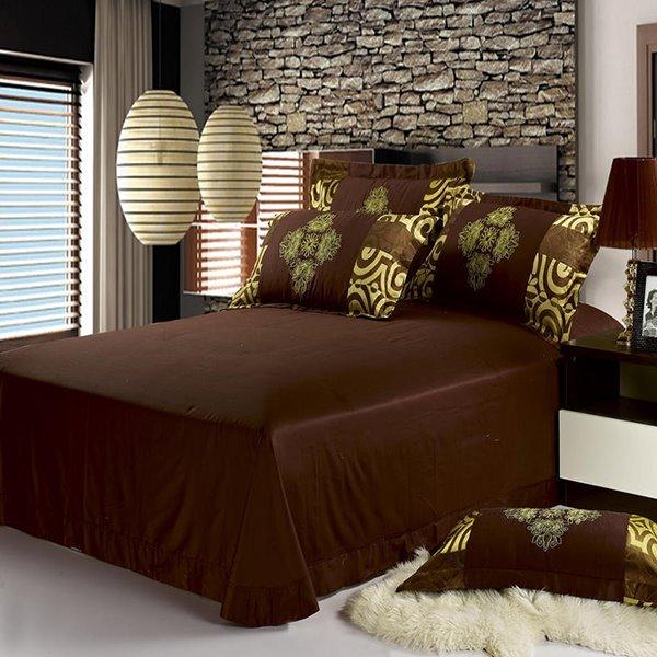Luxury Noble Golden Royal Pattern 4-Piece Duvet Cover Sets