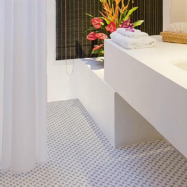 New Arrival Contemporary Anti-slip Splicing Bath Rug