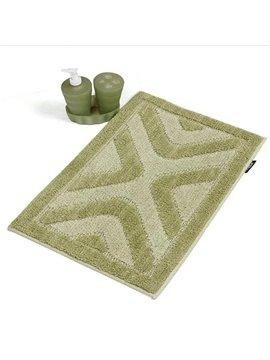 Super Soft Green Rectangular Anti-slip Bath Rug