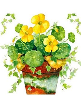 Top Quality Countryside Yellow Flowers Wall Sticker