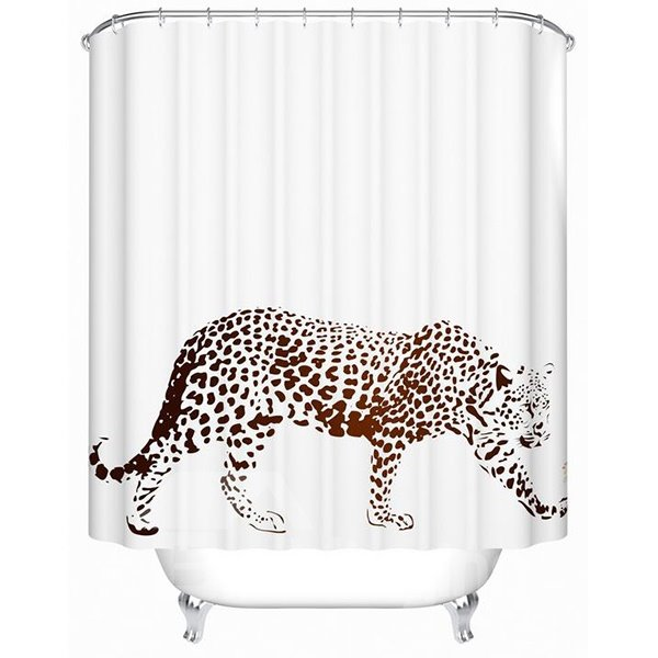 Top Selling Cool Leopard Print Shower Curtain