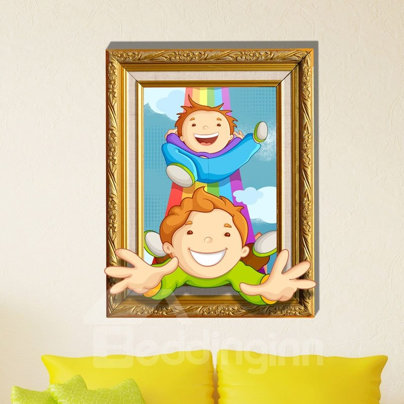 Top Quality Happy Partner 3D Wall Sticker