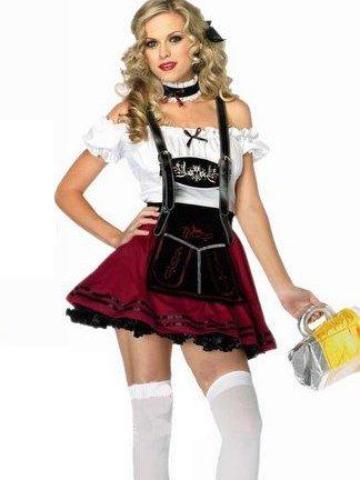 German Beer Festival Female Servant Costume