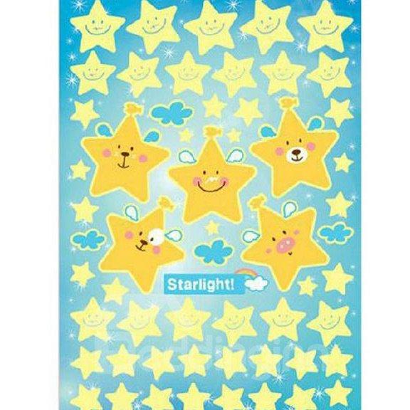Top Classic Popular Luminous Stars Wall Stickers