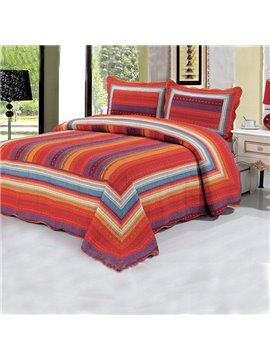 Full Passion Style Classic Stripe Bed in a Bag
