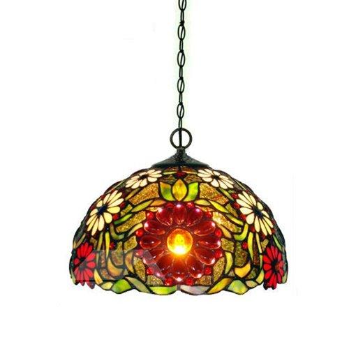 Wonderful Art Tiffany Decorative Sunflower Pattern Pendant Lights
