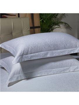 High Quality Morning Glory Printed 100% Cotton Pillowcase