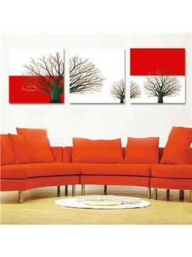 Wonderful Branches 3-Piece Crystal Film Art Wall Print