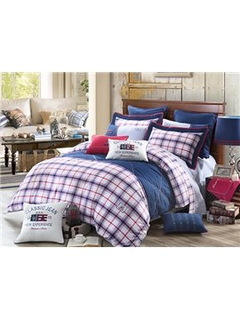 Western Cowboy Design 4-Piece Cotton Duvet Cover Sets