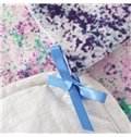 Lavender Field Print 4-Piece Soft Cotton Duvet Cover Sets