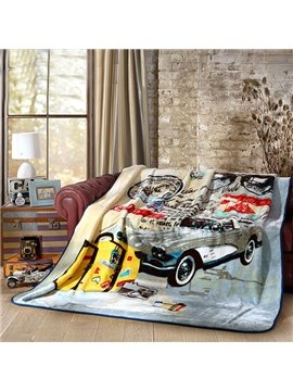 Comfortable and Fashionable American Style Thicken Blanket