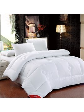New Arrival Comfortable Warm Keeping Pure White Quilt