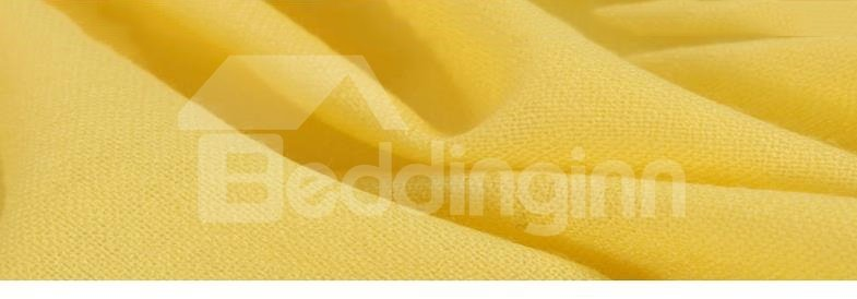 High Quality Tassel Ends 100% Lamb Wool Shawl Long Scarf
