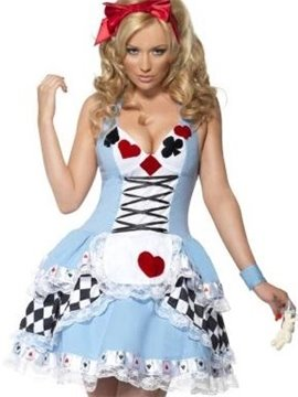 Cinderella Deep V Bust 4 Suits Layered Skirt Costume