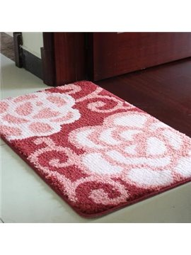 Wonderful Classic Floral Non-Slip Doormat