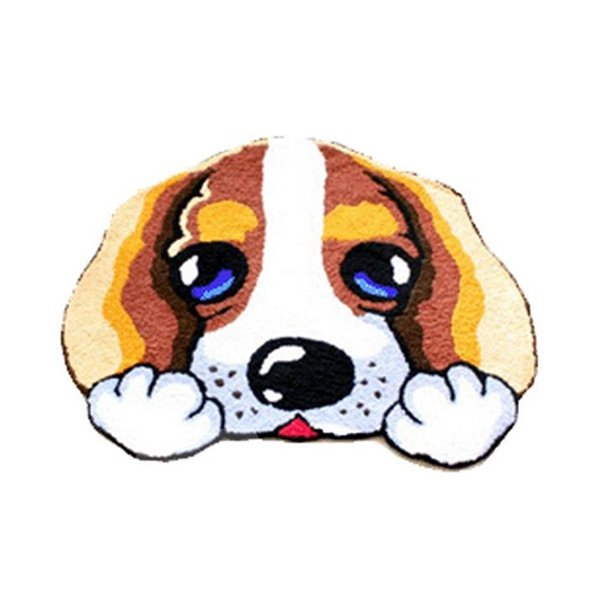 Lovely Cartoon Dog Skid-proof Acrylic Fibres Bath Rug