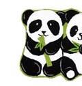 Vivid Pandas Eating Bamboo Anti-slip Bath Rug