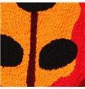 Pastoral Lifelike Ladybird Skid-proof Acrylic Fibres Bath Rug