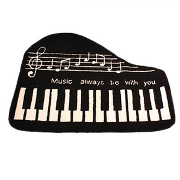 Cool Piano Key Soft Anti-slip Bath Rug