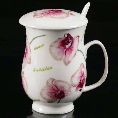 Wonderful Pure Heart and Spirit Flowers Coffee Mug