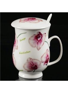 Wonderful Pure Heart and Spirit Flowers Coffee Mug