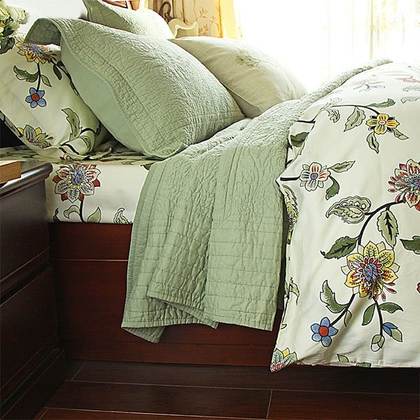 New Arrival Geometric Pattern Cotton Bed in a Bag Set