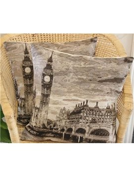 The Big Ben Printed European Style One Piece Throw Pillow