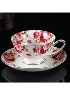 Wonderful Pretty Bone China European Coffee Mug