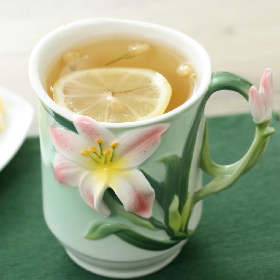 Wonderful Creative Pretty Enamel and Ceramic Coffee Mug