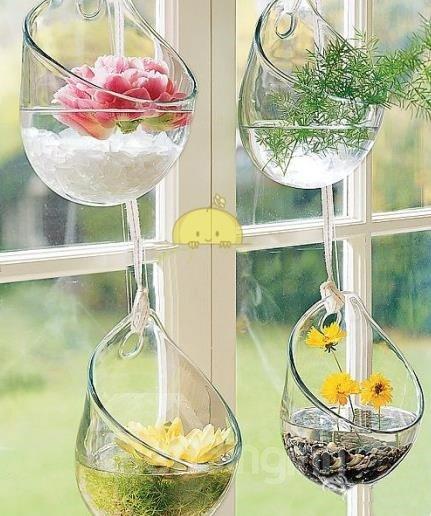 Decorative Hanging Wall Flower Vase