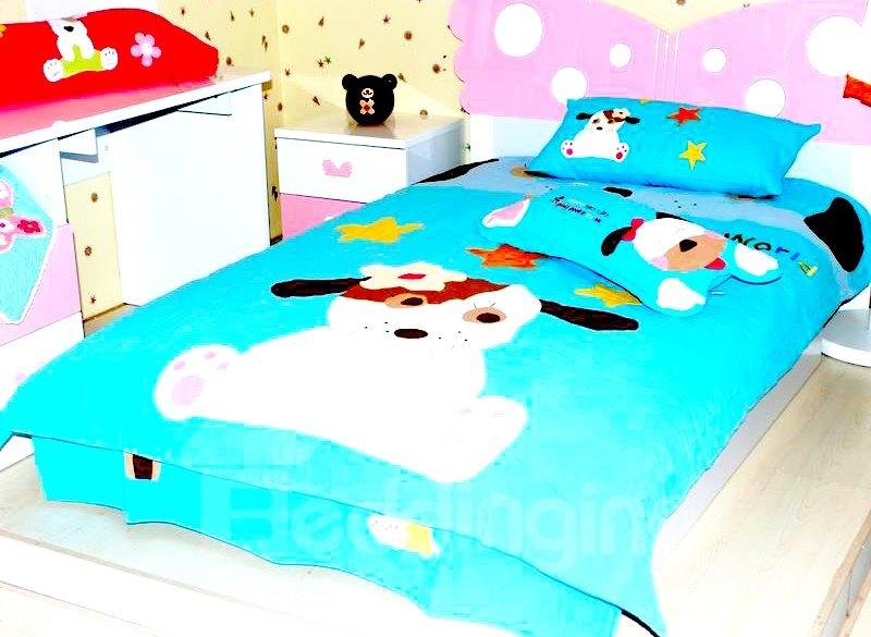 Darling Dog 3-Piece Cotton Bedding Sets