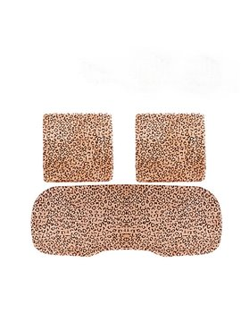 New Arrival Leopard Printed 3-Piece Car Seat Cushions