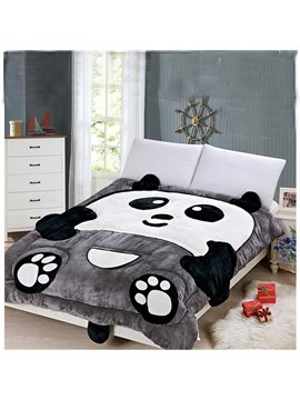 Very Cute Warm Keeping Panda Shape Quilt