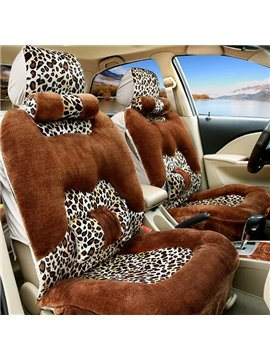New Arrival Fashionable Leopard Pattern Car Seat Covers