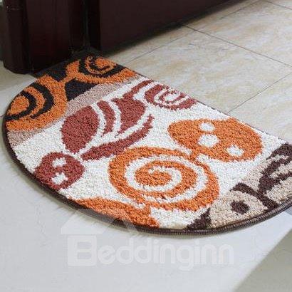Top Selling Semicircle Non-Slip Doormat