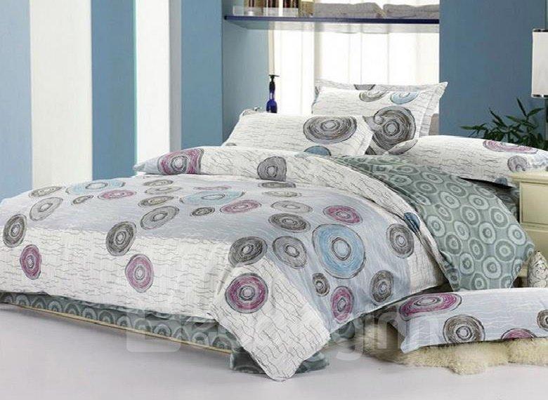 Creative Drawing 4-Piece Cotton Duvet Cover Sets