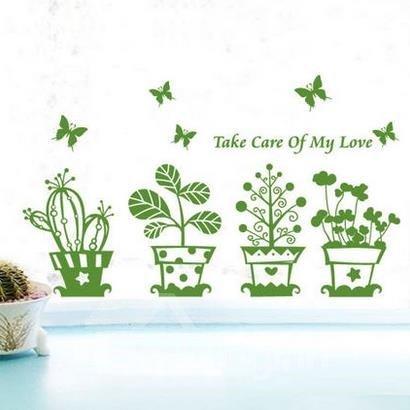 Top Quality Beautiful Garden Wall Stickers