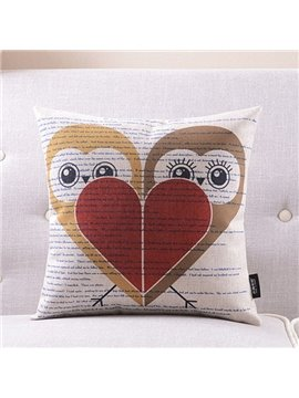 New Arrival Cute and Cartoon Animals Printed Throw Pillow