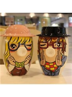 Wonderful 1-Couple Ceramic Creative Mug for Lovers