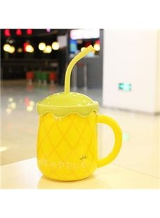 Top Quality Yellow Pineapple Creative Mug