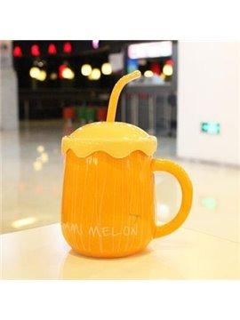 Top Quality Simple Hami Melon Pattern Creative Mug