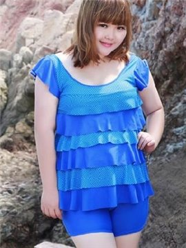 Falbala Freewire Swimwear with Falsies 2 Pieces Tankini