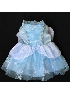 Fantastic Cinderella Princess Velvet Dress for Dog
