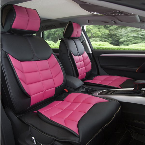 Light Sport Style And Comfortable Grid Designed Univeral Car Seat Cover