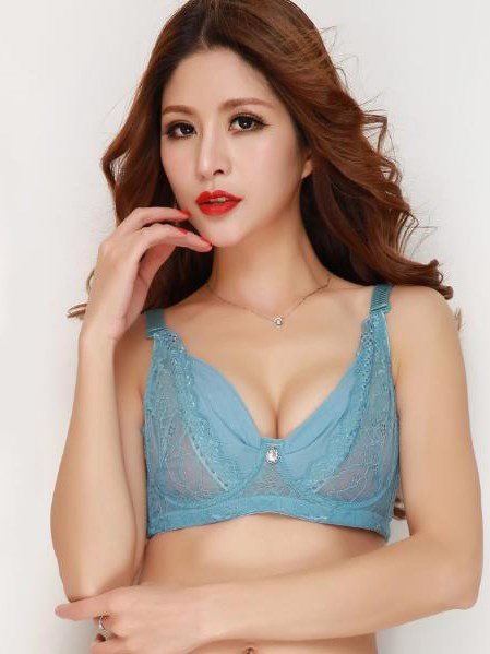 Comfy Thin Breathable Cotton Full Coverage Bra 11307116