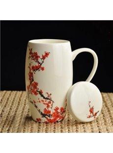 Top Quality Pretty Red Plum Coffee Mug
