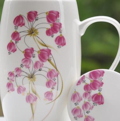 Top Popular Elegant Campanula Flower Coffee Mug