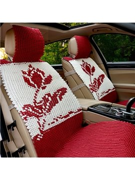 New Arrival Handmade Ice Silk Car Seat Cover