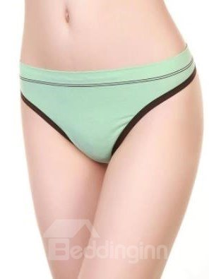 Comfy Cotton Thin Straps Pattern Multi-color Tanga